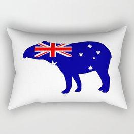 Australian Flag - Tapir Rectangular Pillow