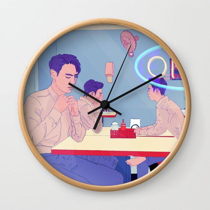 Late Night Wall Clock