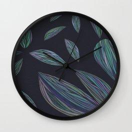 RAINBOW LEAVES Wall Clock