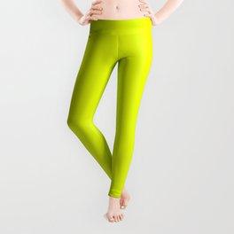 Neon Yellow + Bug Out Bag Design Leggings