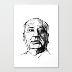 hitchcock Canvas Print