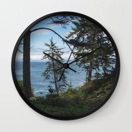 Northern California Coast Wall Clock