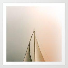 Minimal Sail Art Print