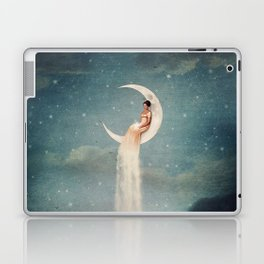 Moon River Lady Laptop & iPad Skin