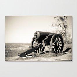 Welcome to Vicksburg 7 Canvas Print