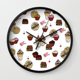 Sweet Release Cakes and Treats Wall Clock
