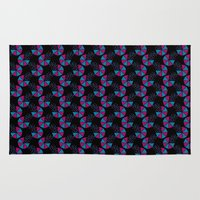 80s Area & Throw Rugs featuring Bring Back The 80s by Apple Kaur