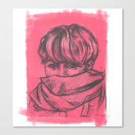 Jimin BTS Canvas Print