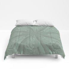Lost in the Laurels Fractal Bloom Comforters