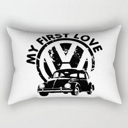 My First Love Rectangular Pillow