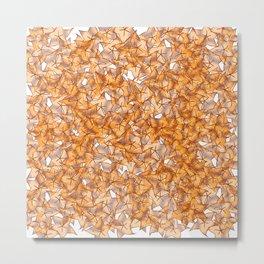 Trompe-l'œil - Starfruit vs. Autumn Metal Print