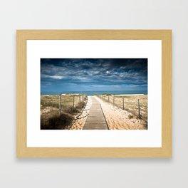 Dunes of Hossegor, France, 2013 Framed Art Print