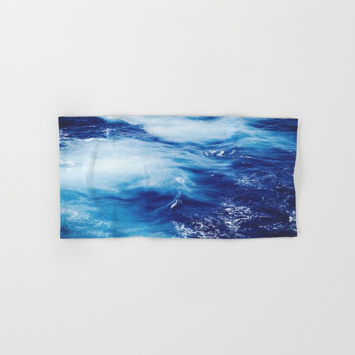 Blue Ocean Hand & Bath Towel
