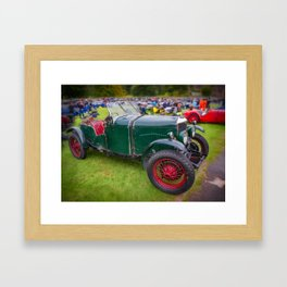 Riley Classic Car Framed Art Print