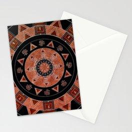 ethnic circle Stationery Cards