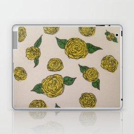 Falling Roses (yellow) Laptop & iPad Skin