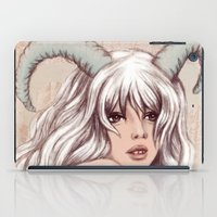 aries iPad Cases featuring Aries by Vivian Lau