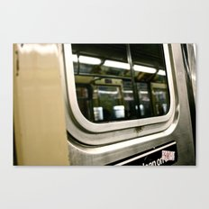 Subway Ride Canvas Print