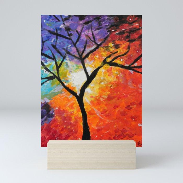 Healing Light Mini Art Print