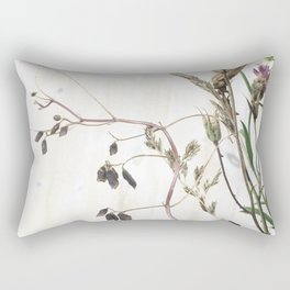 Seed pods Rectangular Pillow