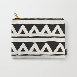 Tribal Chevron Stripes Carry-All Pouch