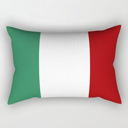 Italian Flag Rectangular Pillow