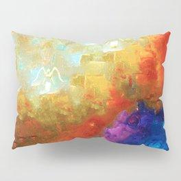 Angels Among Us - Emotive Spiritual Healing Art Pillow Sham