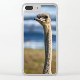 southafrica ... long neck Clear iPhone Case