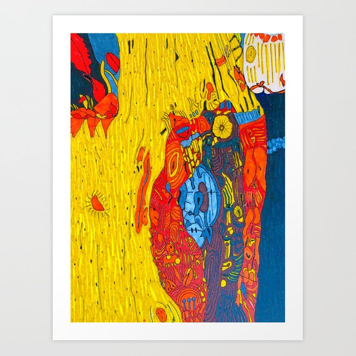 What the Tree Told Me Art Art Print