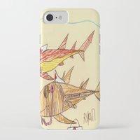 nurse iPhone & iPod Cases featuring Nurse Sharks by Ryan van Gogh