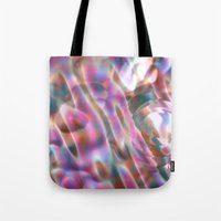 river Tote Bags featuring River by tuditees