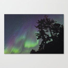 Northern Lights in the U.P. Canvas Print