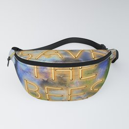 Save the Bees - Neon Fanny Pack