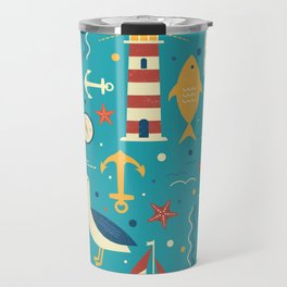 All At Sea Travel Mug