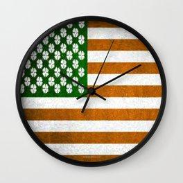 Irish American 015 Wall Clock