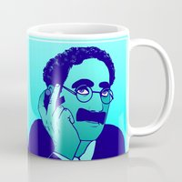 marx Mugs featuring Groucho by Rachcox