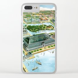 Chicago-Illinois-1893 Clear iPhone Case