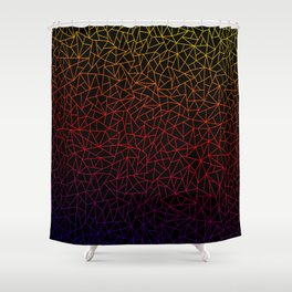 Gradient on Lowpoly Shower Curtain