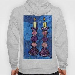 Shabbat Candles Hoody