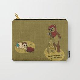 I Enjoy Long Ewoks on the Beach Carry-All Pouch