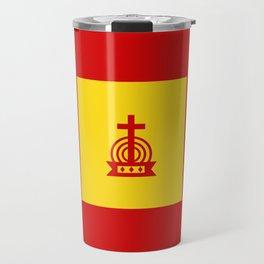 Henny Maestro - Gold on Red Travel Mug