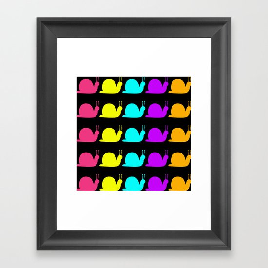 SOOOOOOO SLOW!!!  Framed Art Print