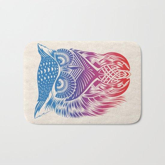 Owl of Color Bath Mat