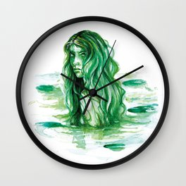 Frog Princess Sea Witch Wall Clock