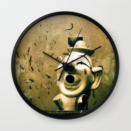 Clown Games Wall Clock