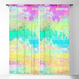 Datamoshing 2 Blackout Curtain