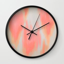 MELTED HEARTS Wall Clock