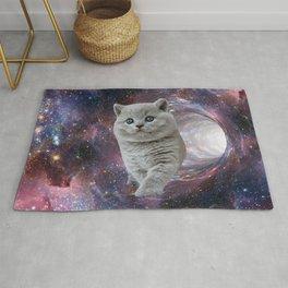 Galaxy Cat Rug
