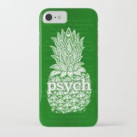 psych iPhone & iPod Cases featuring Psych Pineapple! by Alohalani