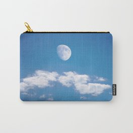 Daytime - Gibbous Moon  Carry-All Pouch